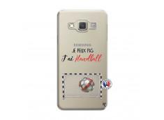Coque Samsung Galaxy A3 2015 Je peux pas j'ai Handball