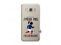 Coque Samsung Galaxy A3 2015 Je Peux Pas J Ai Les Bleues Maillot