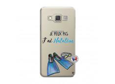 Coque Samsung Galaxy A3 2015 Je Peux Pas J Ai Natation