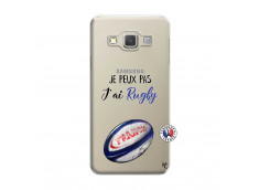 Coque Samsung Galaxy A3 2015 Je Peux Pas J Ai Rugby