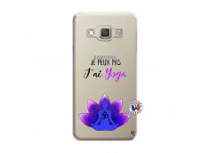 Coque Samsung Galaxy A3 2015 Je Peux Pas J Ai Yoga