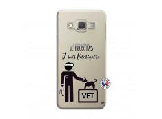 Coque Samsung Galaxy A3 2015 Je Peux Pas Je Suis Veterinaire