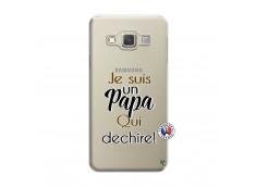 Coque Samsung Galaxy A3 2015 Je Suis Un Papa Qui Dechire