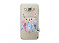 Coque Samsung Galaxy A3 2015 Multicolor Watercolor Floral Dreamcatcher