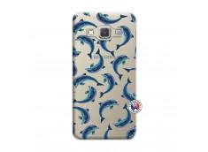 Coque Samsung Galaxy A3 2015 Dolphins