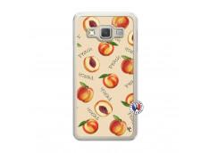 Coque Samsung Galaxy A3 2015 Sorbet Pêche Translu