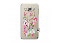 Coque Samsung Galaxy A3 2015 Pink Painted Dreamcatcher