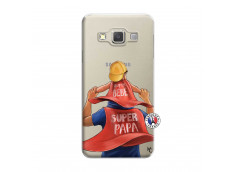 Coque Samsung Galaxy A3 2015 Super Papa et Super Bébé