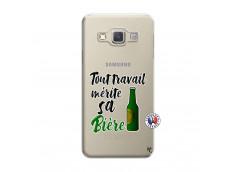 Coque Samsung Galaxy A3 2015 Tout Travail Merite Sa Biere