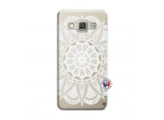 Coque Samsung Galaxy A3 2015 White Mandala