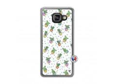 Coque Samsung Galaxy A3 2016 Le Monde Entier est un Cactus Translu