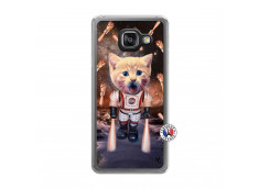 Coque Samsung Galaxy A3 2016 Cat Nasa Translu