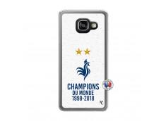Coque Samsung Galaxy A3 2016 Champion Du Monde Translu