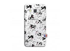 Coque Samsung Galaxy A3 2016 Cow Pattern