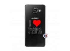 Coque Samsung Galaxy A3 2016 I Love Papa