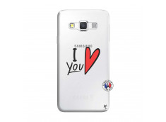 Coque Samsung Galaxy A3 2016 I Love You