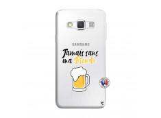 Coque Samsung Galaxy A3 2016 Jamais Sans Ma Blonde