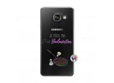 Coque Samsung Galaxy A3 2016 Je Peux Pas J Ai Badminton