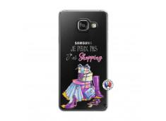 Coque Samsung Galaxy A3 2016 Je Peux Pas J Ai Shopping