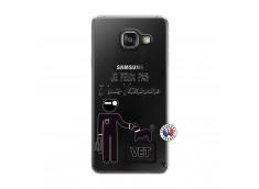 Coque Samsung Galaxy A3 2016 Je Peux Pas Je Suis Veterinaire