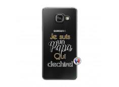 Coque Samsung Galaxy A3 2016 Je Suis Un Papa Qui Dechire