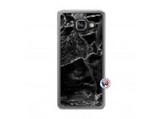 Coque Samsung Galaxy A3 2016 Black Marble Translu
