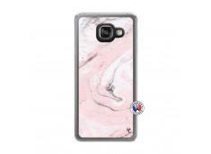 Coque Samsung Galaxy A3 2016 Marbre Rose Translu
