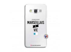 Coque Samsung Galaxy A3 2016 Marseillais à Vie