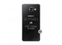 Coque Samsung Galaxy A3 2016 Oh Putain C Est L Heure De L Apero
