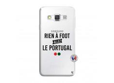 Coque Samsung Galaxy A3 2016 Rien A Foot Allez Le Portugal