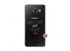 Coque Samsung Galaxy A3 2016 Rien A Foot Allez Paris