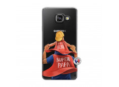 Coque Samsung Galaxy A3 2016 Super Papa et Super Bébé