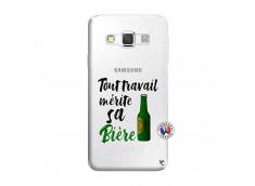 Coque Samsung Galaxy A3 2016 Tout Travail Merite Sa Biere
