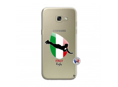 Coque Samsung Galaxy A3 2017 Coupe du Monde Rugby-Italy
