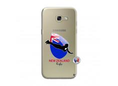 Coque Samsung Galaxy A3 2017 Coupe du Monde Rugby- Nouvelle Zélande