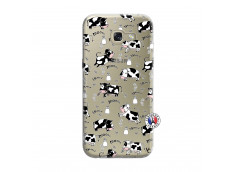 Coque Samsung Galaxy A3 2017 Cow Pattern