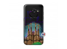 Coque Samsung Galaxy A3 2017 I Love Barcelona