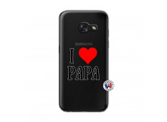 Coque Samsung Galaxy A3 2017 I Love Papa