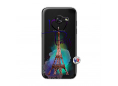 Coque Samsung Galaxy A3 2017 I Love Paris
