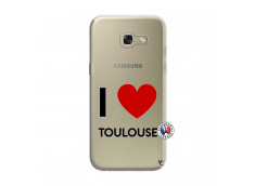 Coque Samsung Galaxy A3 2017 I Love Toulouse