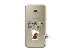 Coque Samsung Galaxy A3 2017 Jamais Sans Ma Brune