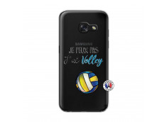 Coque Samsung Galaxy A3 2017 Je Peux Pas J Ai Volley