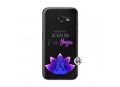 Coque Samsung Galaxy A3 2017 Je Peux Pas J Ai Yoga