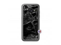 Coque Samsung Galaxy A3 2017 Black Marble Translu
