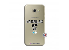 Coque Samsung Galaxy A3 2017 Marseillais à Vie