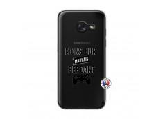 Coque Samsung Galaxy A3 2017 Monsieur Mauvais Perdant