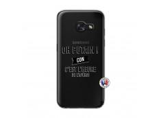 Coque Samsung Galaxy A3 2017 Oh Putain C Est L Heure De L Apero