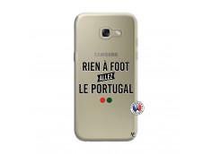 Coque Samsung Galaxy A3 2017 Rien A Foot Allez Le Portugal