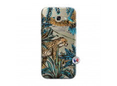 Coque Samsung Galaxy A3 2017 Leopard Jungle