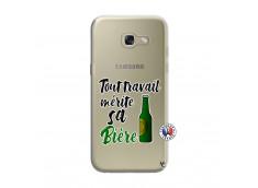 Coque Samsung Galaxy A3 2017 Tout Travail Merite Sa Biere